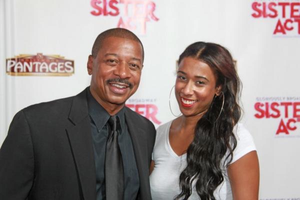 Director/actor Robert Townsend with daughter Sierra