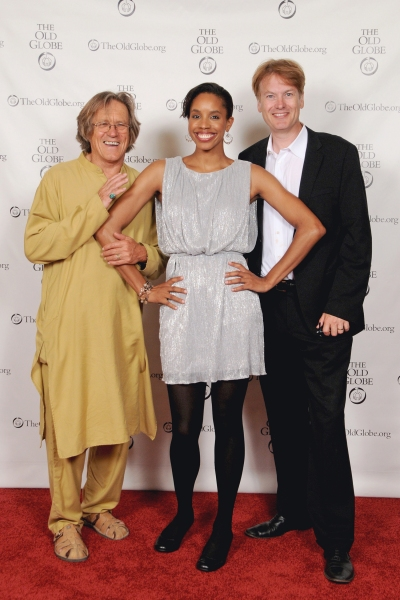 Miles Anderson, Krystel Lucas and Donald Carrier Photo