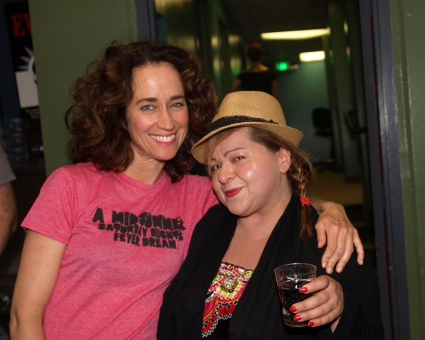 Beth Kennedy and Lisa Valenzuela