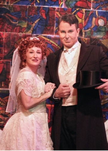 Vicki Lewis and David Gaines