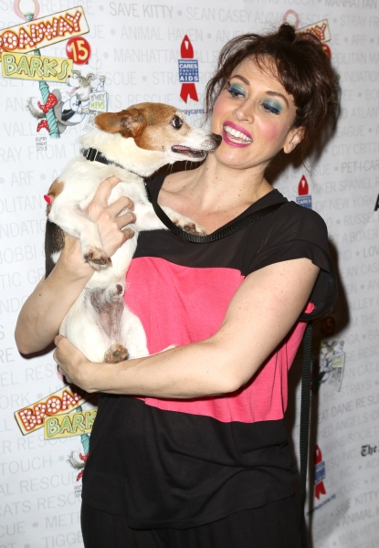 Photo Coverage: Broadway Shows Some Puppy Love! Backstage at BROADWAY BARKS 15 - Part One