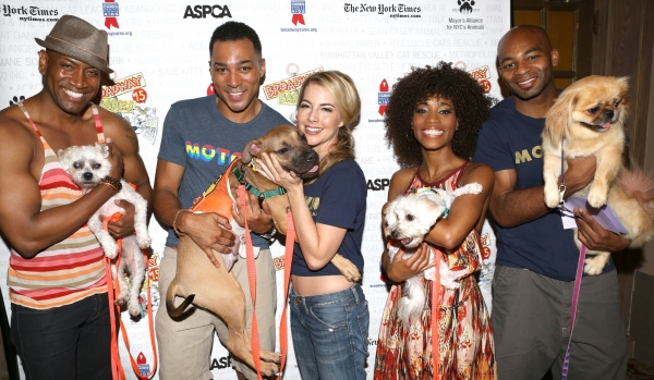 Bryan Terrell Clark, Charl Brown, Morgan James, Valisia LeKae and Brandon Victor Dixon