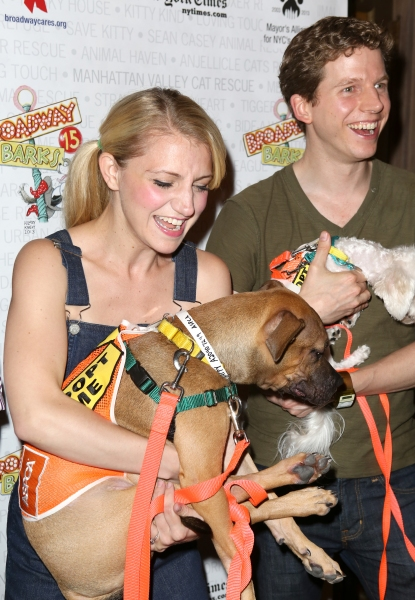 Photo Coverage: Backstage at BROADWAY BARKS 15 - Part Two
