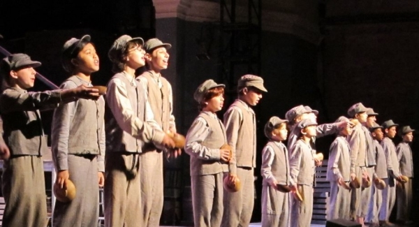 Andre Gulick (Oliver Twist) & The Workhouse Kids: Jasmine Brassfield, Robin Camille, Al Cardone, Autumn Domingo, Adam Dorfman, Thomas Grace, Isis Noel, Rachel Khurtorsky, Paul Mazzu, Alexis Paolino, Julianna Pitera,  Val (V.J.) Scarpacci, Stephen Sayegh,