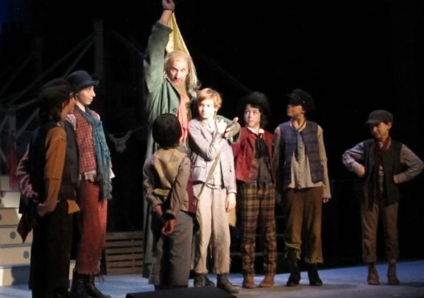 Adam Dorfman, Thomas Grace, Isis Noel, Rachel Khurtorsky, Stephen Sayegh, as Fagin''s Gang and Jeremiah Burch as the Artful Dodger