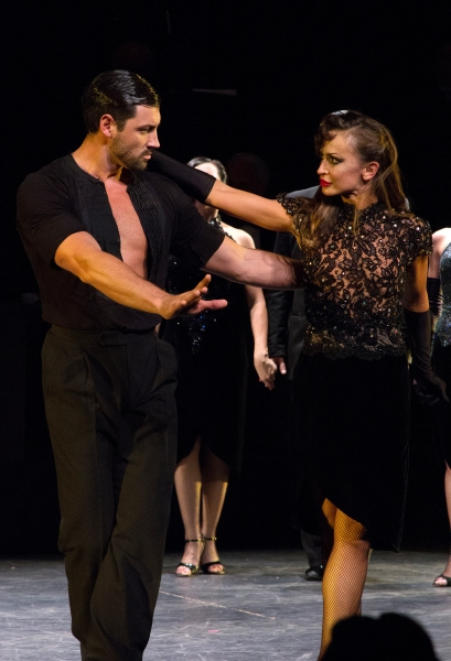 Photo Coverage: Inside FOREVER TANGO's Opening Night Curtain Call with Karina Smirnoff and Maksim Chmerkovskiy & More!