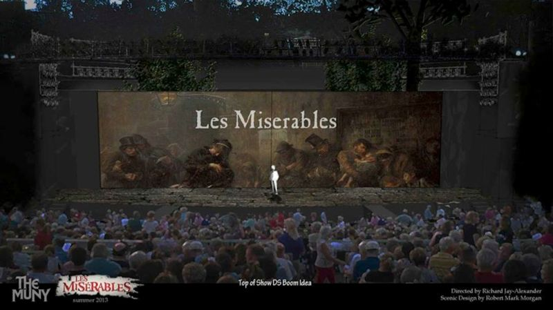LES MISERABLES Opens Tonight at The Muny Starring Lewis, Panaro, McCormick & More; Full Company Announced