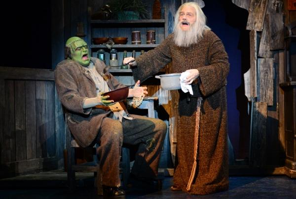 Bradley Nacht (The Monster), Tom Souhrada (The Blind Hermit)