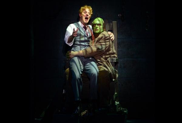 John Bolton (Dr. Frankenstein), Bradley Nacht (The Monster)