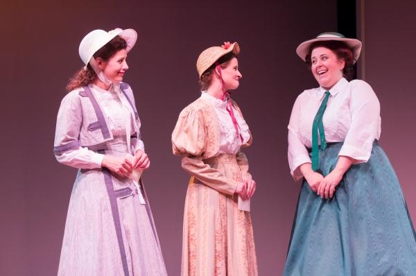 Katharine Hatcher, Megan Jackson, Stephanie Bradow