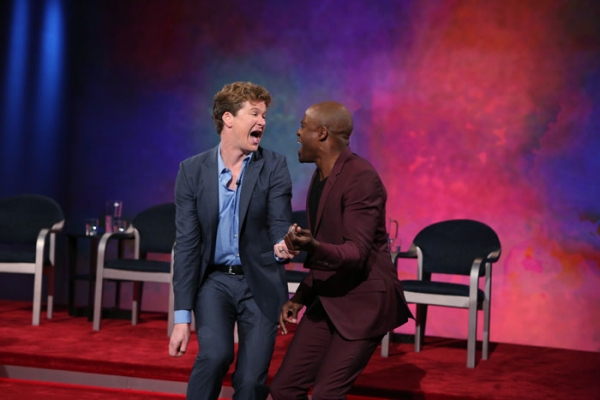 Pictured (L-R): Jonathan Mangum and Wayne Brady