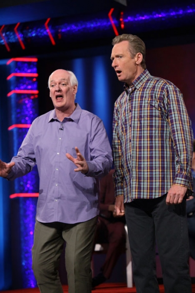 Pictured (L-R):  Colin Mochrie and Ryan Stiles