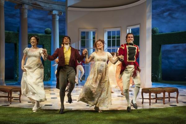 Christine Weber (Jane Bennet), Juan Rivera Lebron, Aeysha Kinnunen (Lydia Bennet) and Emanuel Ardeleanu