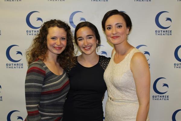 Ashley Rose Montondo, Thallis Santesteban and Christine Weber
