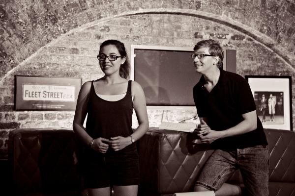 Emma Harrold (Luisa) & James Irving (Matt) Photo