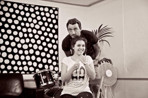 Gavin James (El Gallo) & Emma Harrold (Luisa) Photo