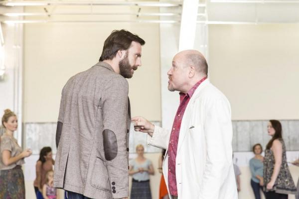 Christopher D Hunt and Tim Frances Photo