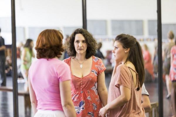 Rachel Kavanaugh with Fiona Dunn and Faye Brookes