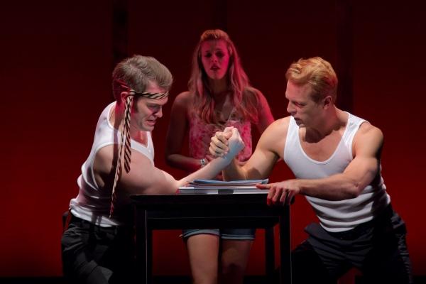 Preston Ellis, Heather Lundstedt, Christopher DeAngelis  Photo
