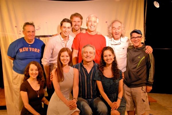 Front Row: RITA MARKOVA, ALISON WOODS, MARTIN VIDNOVIC, ALI EWOLDT. Back Row: DANIEL MARCUS, DANIEL ROWAN, GEORGE DVORSKY, JOSEPH DELLGER, MacINTYRE DIXON, MICHAEL NORSTRAND.