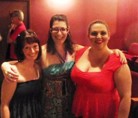 Natasha Baumgardner(costume designer), Alissa-Nicole Koblentz(director) and Julia Shear Kushner (Actor)