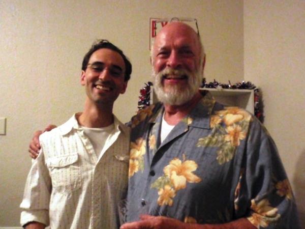 Actors Jonathan Byram and John McCool Bowers