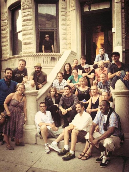 Photo Flash: THE LAST FIVE YEARS Wraps Filming in New York City!
