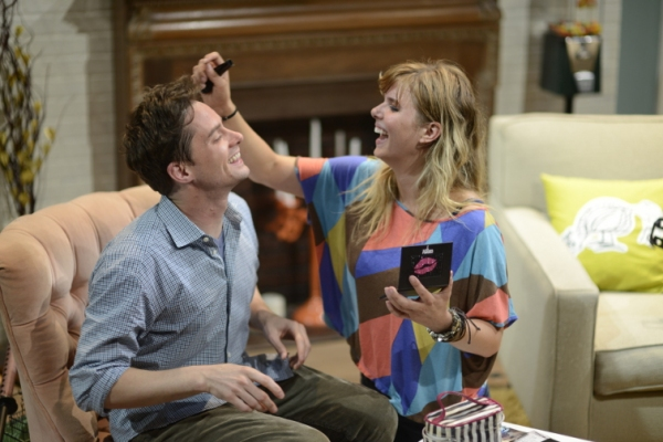 JD Taylor as Walter and Anna Stromberg as Casey