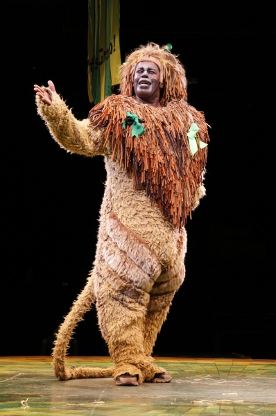 Lance Roberts as the Cowardly Lion