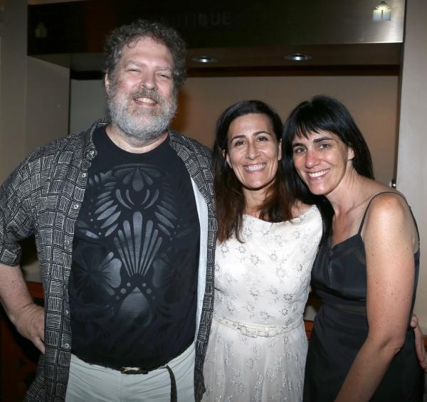 Brian Crawley, Jeanine Tesori and Leigh Silverman