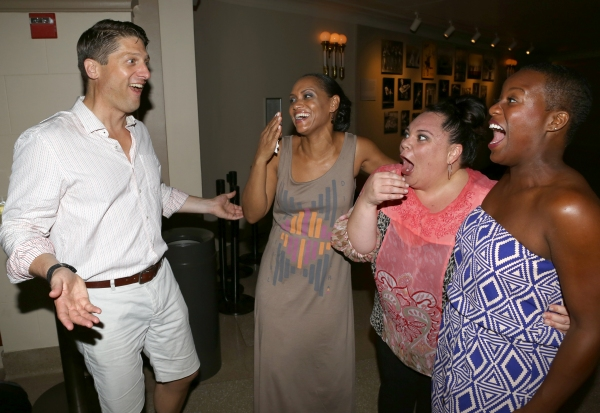 Christopher Sieber, Rema Webb, Keala Settle and Anastacia McCleskey