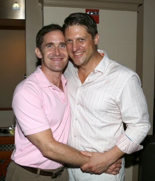 Kevin Burrows and Christopher Sieber