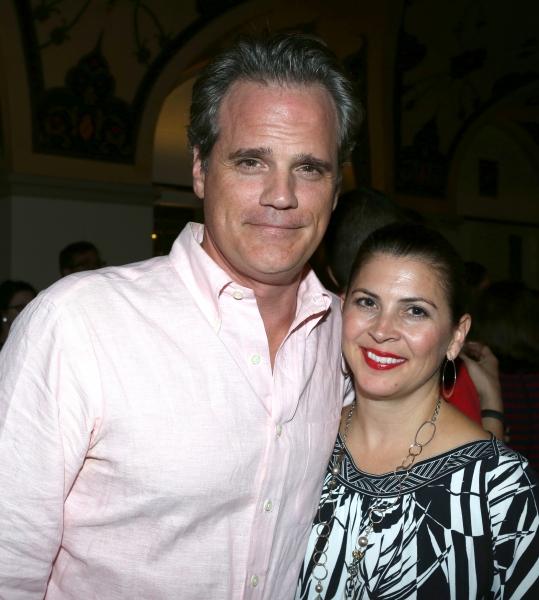 Michael Park and Laurie Nowak