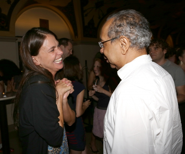 Sutton Foster and George C. Wolfe