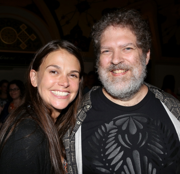 Sutton Foster and Brian Crawley