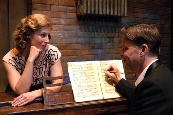 Lauren Shealy (Georgia Hendricks) and Jeffrey Roark (Aaron Fox) Photo