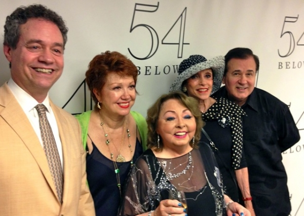 MARK SENDROFF, DONNA McKECHNIE, MIMI HINES, LILLIANE MONTEVECCHI, LEE ROY REAMS