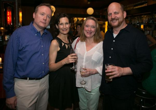 Brent Langdon, Nesba Crenshaw, Kristine Nielsen and Steven Dykes Photo