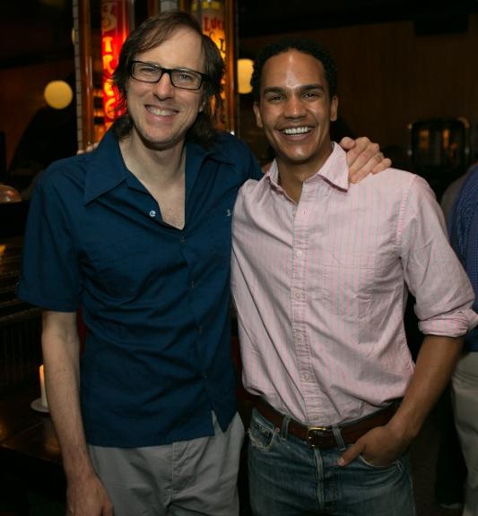 David Gibbs and Mathew Nakitare Photo
