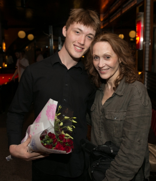 Will Maxwell-Lunney and Jan Maxwell