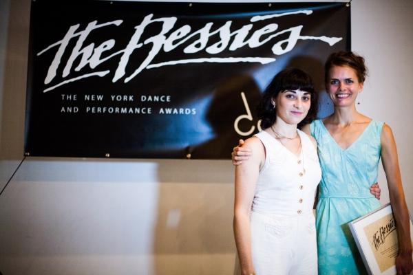 Beth Gill presented 2013 award to Joanna Kotze
