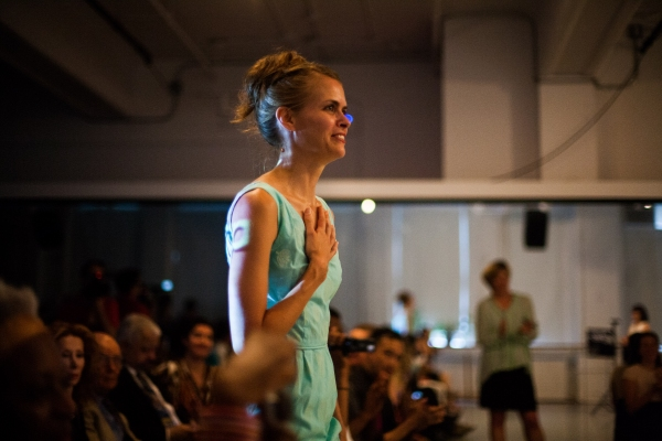 Photo Flash: Joanna Kotze Honored with 2013 Bessie Award for Outstanding Emerging Choreographer