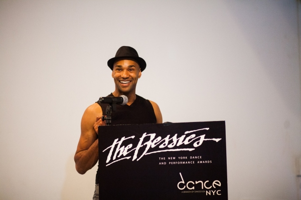 Photo Flash: Darrell Jones Receives 3rd Annual Juried Bessie Award