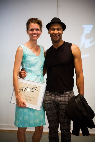 2013 Honorees Joanna Kotze and Darrell Jones
