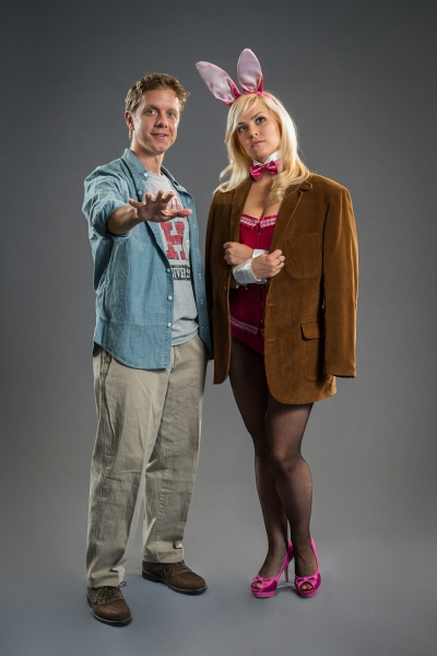 Ben Nordstrom (Emmett Forrest) and Michelle London (Elle Woods)  Photo