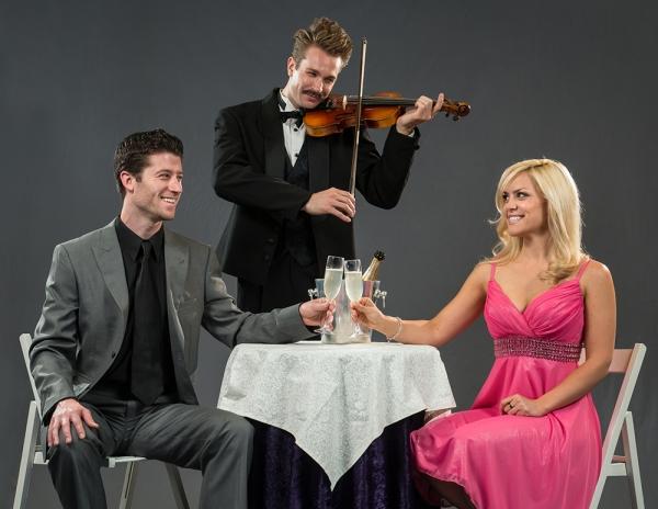 Brandon Davidson, Joe Grandy, and Michelle London  Photo