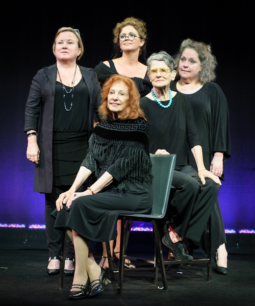 Seated: Janet Shea and Mary Louise Wilson Standing:  Tracey Collins, Lara Grice, Clar Photo