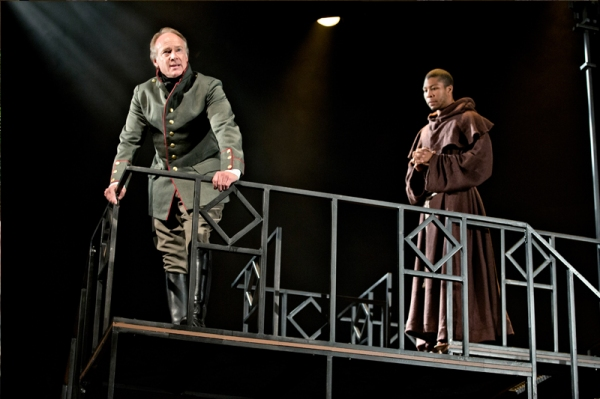 Greg Wood as Vincentio and Jequrey Slaton as Friar Thomas
