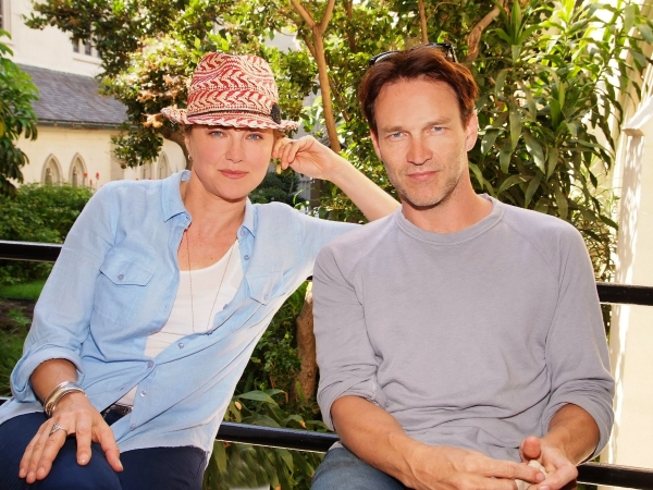 Lucy Lawless, Stephen Moyer Photo