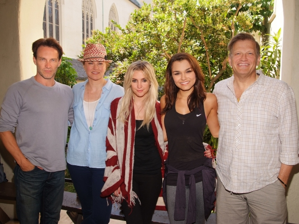 Stephen Moyer, Lucy Lawless, Ashlee Simpson, Samantha Barks, Drew Carey Photo